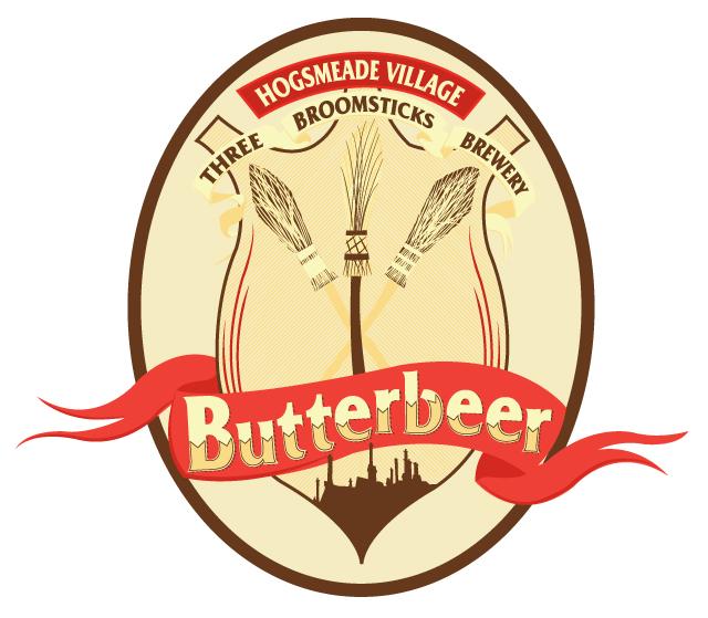 Harry Potter Butterbeer Logo Butterbeer Label by ho...