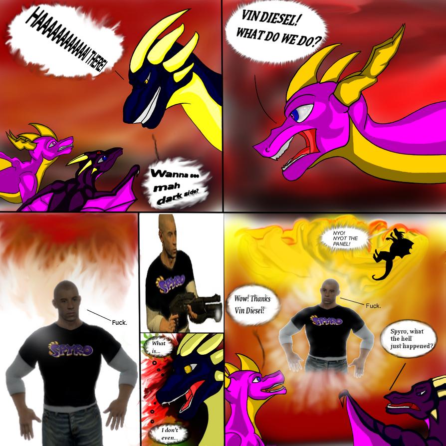 Vin Diesel Dislikes Spyro Antagonist by AntiMach