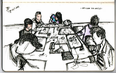 Sketchurmind - Art Class by middlenameconde