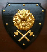 Lion's Shield Painted (5) by zhe-holti