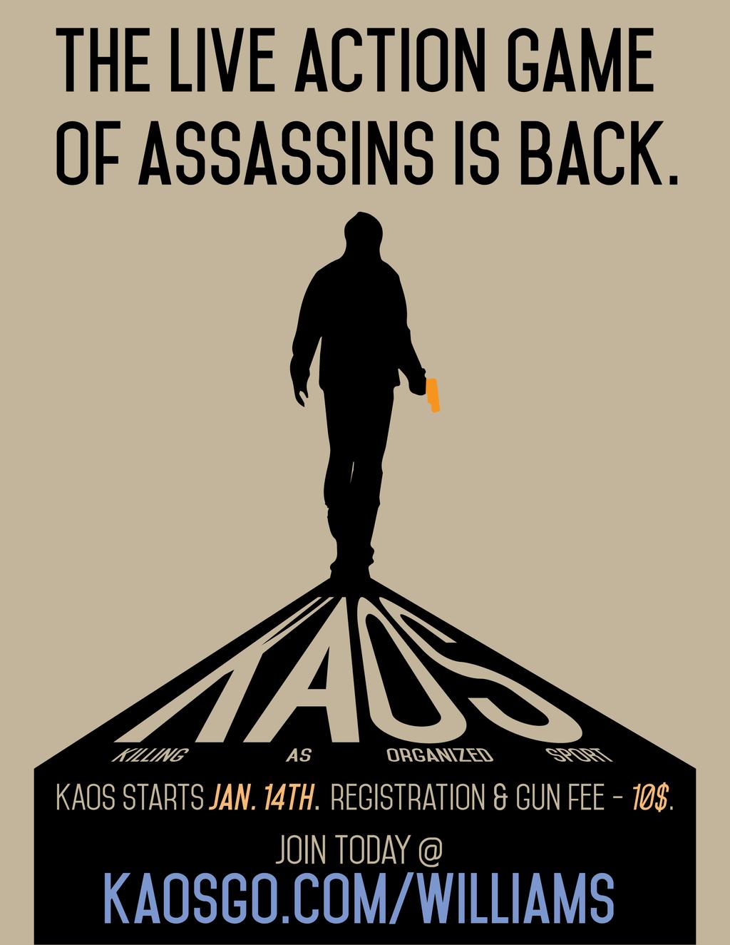 KAOS Poster by nigelmnz