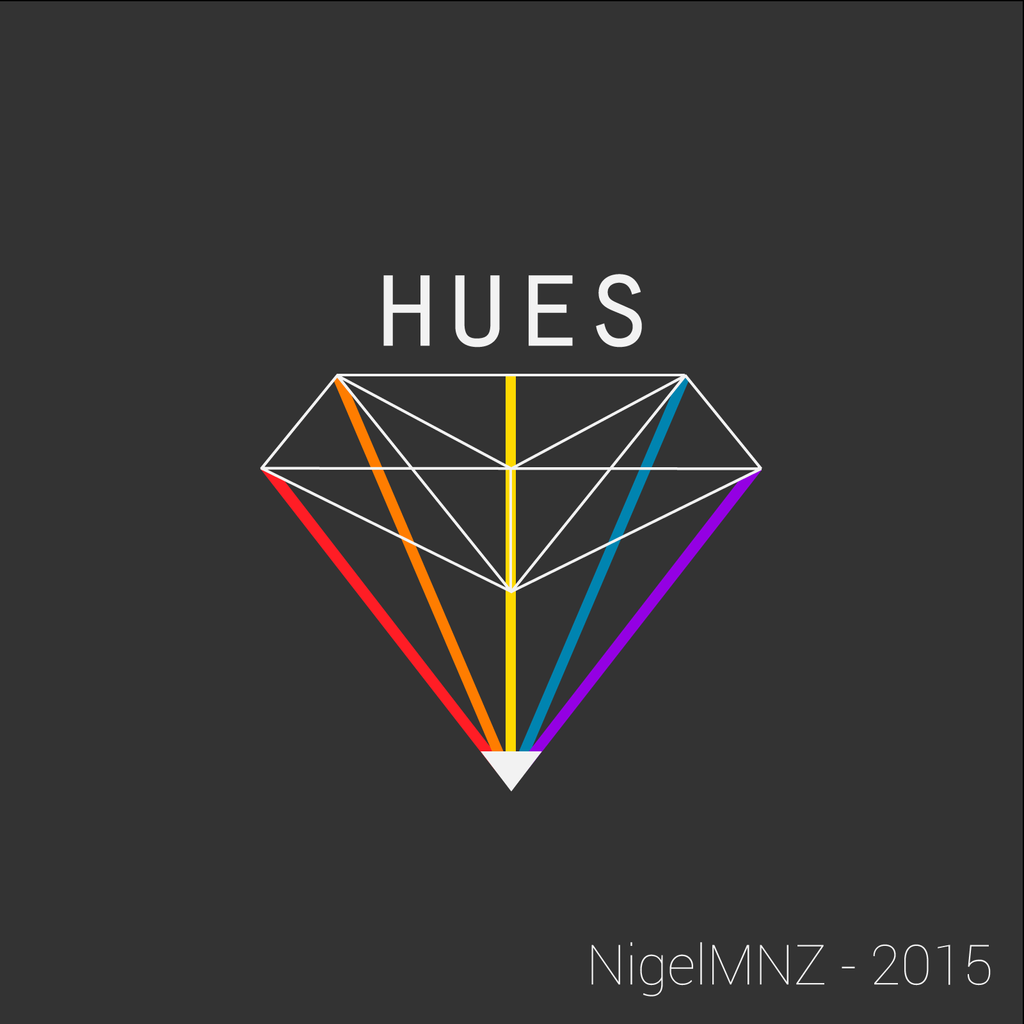 HUES - Dark Logo by nigelmnz