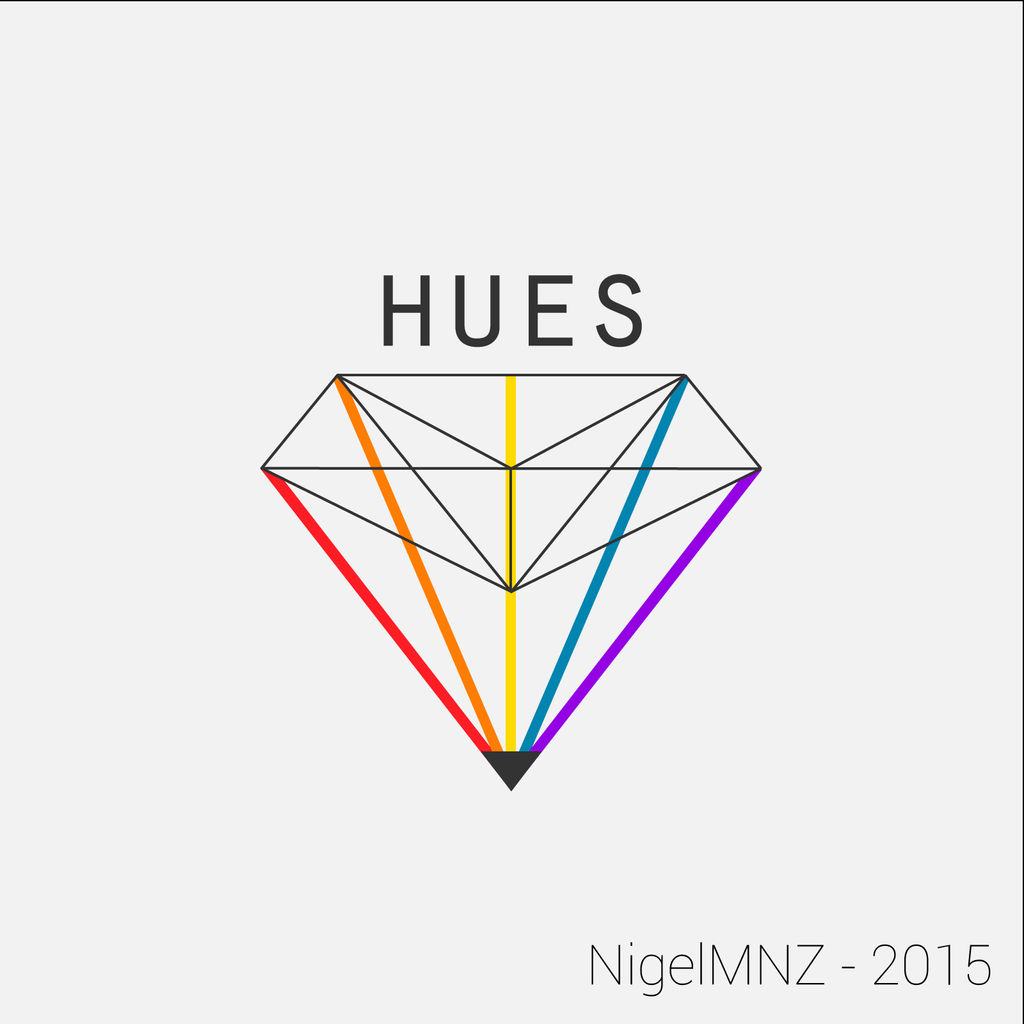 HUES - Light Logo by nigelmnz
