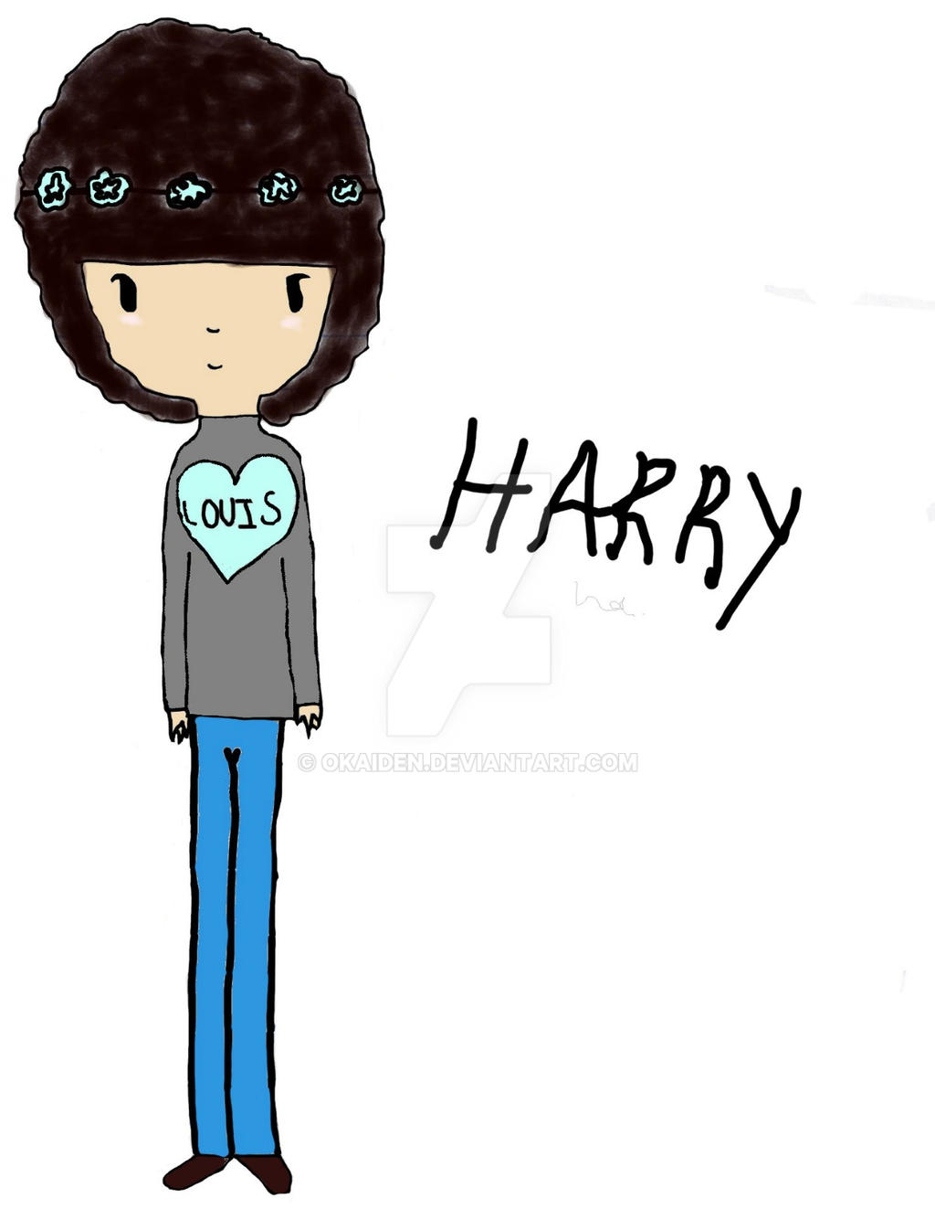 'Chibi' Harry Styles, The Flower Child. by okaiden on ...