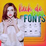 Pack de +3OO Fonts