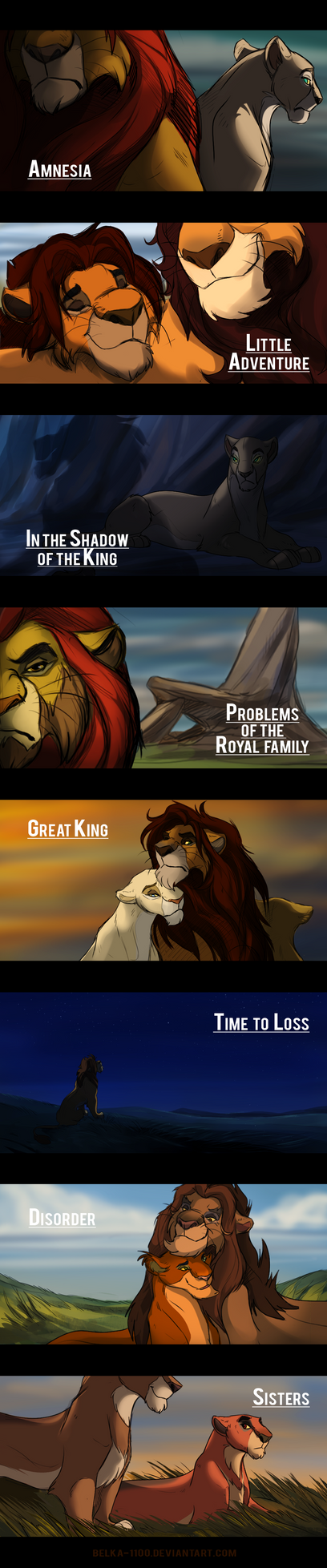 The Lion King comics preview by Belka-1100