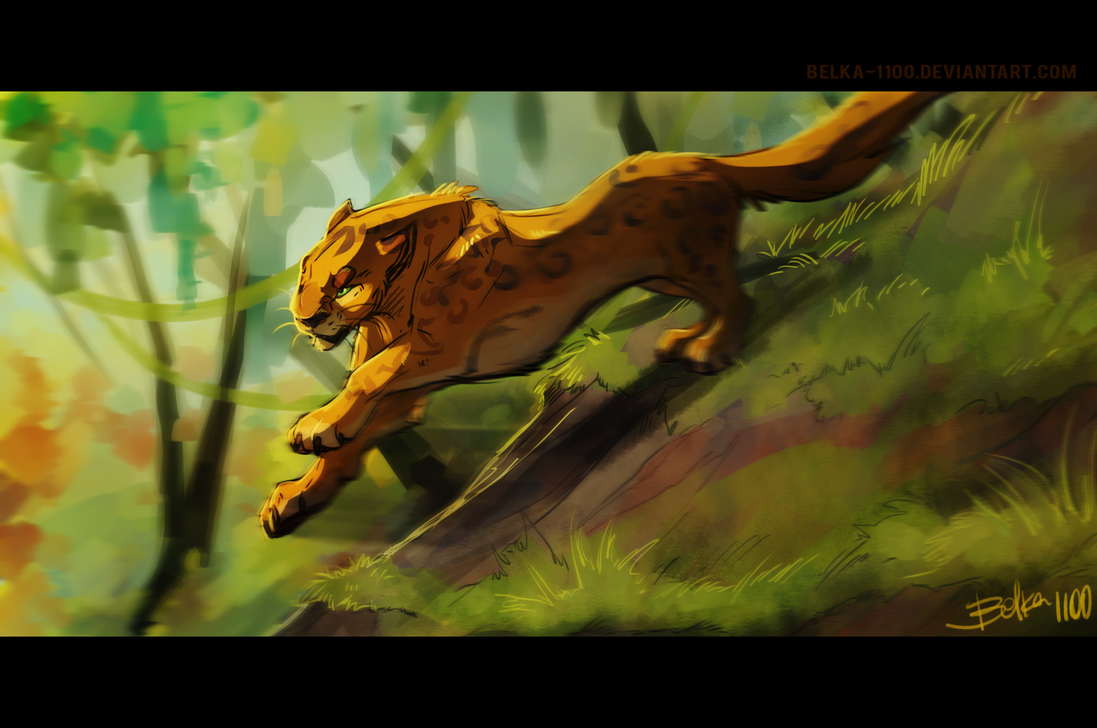 Lord of the jungle by Belka-1100