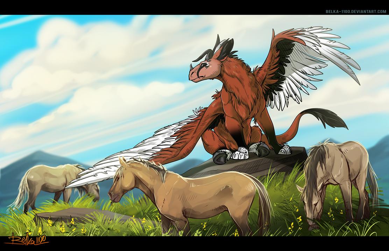 Shepherd - Commission by Belka-1100