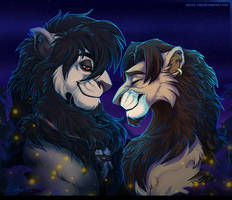 Wayland and Jim  - YCH portrait comm by Belka-1100