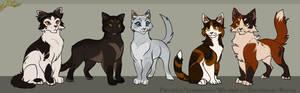 Spottedleaf's siblings