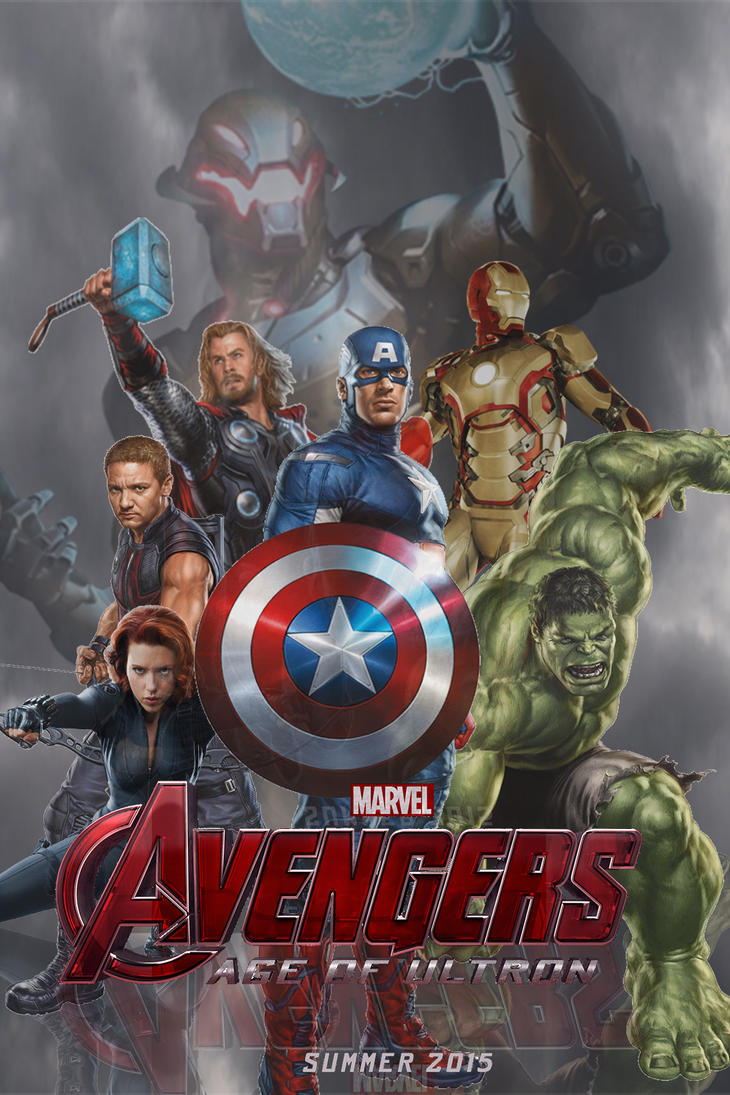 Avengers 2: Age of Ultron Fan-made Teaser Poster by ...