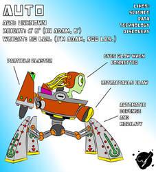 Auto and ADAM - Original Character Design