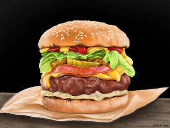Burger by Subhojit2du