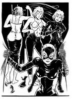 Batman Returns Catwoman 328 by djmpaz