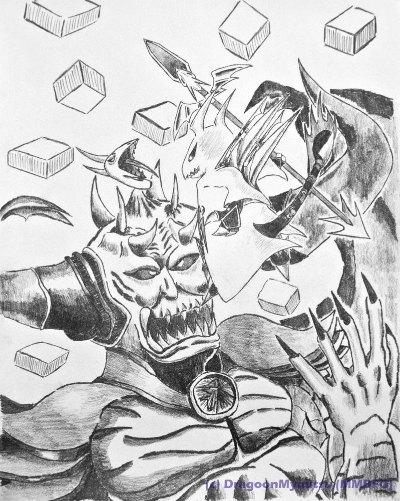 Final Fantasy Chaos by DragoonMyuutsu