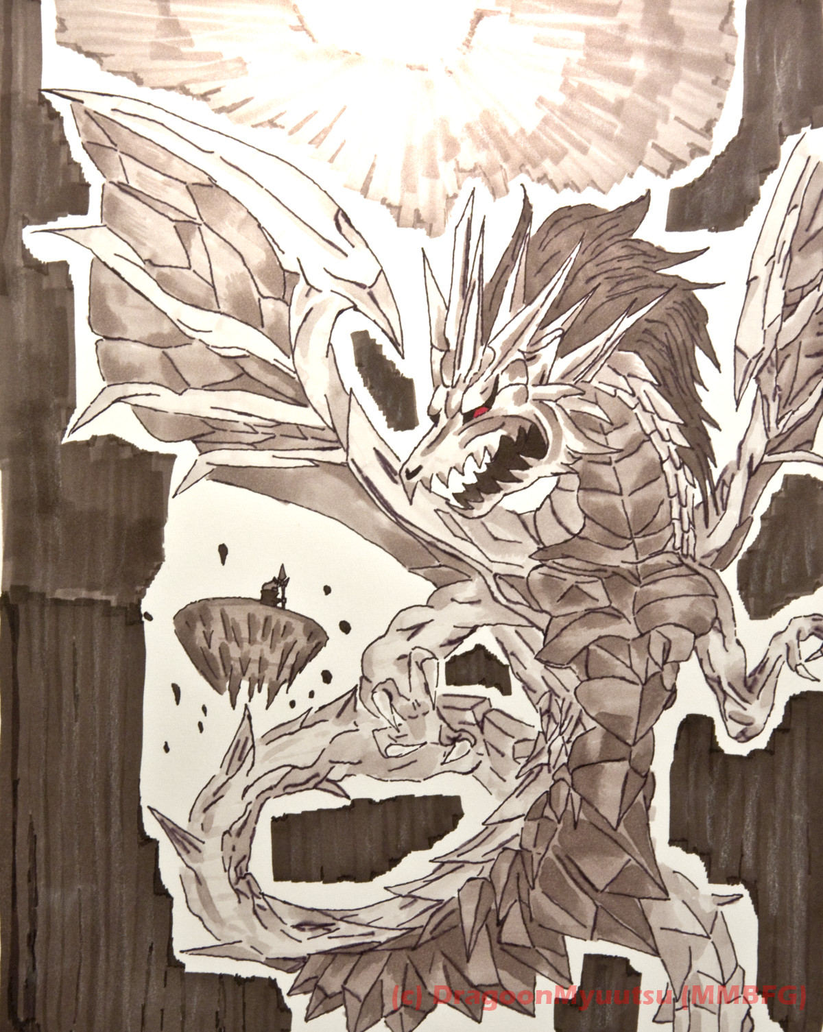 Final Fantasy Shinryu by DragoonMyuutsu
