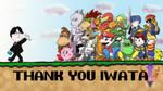 Farewell Mr. Iwata