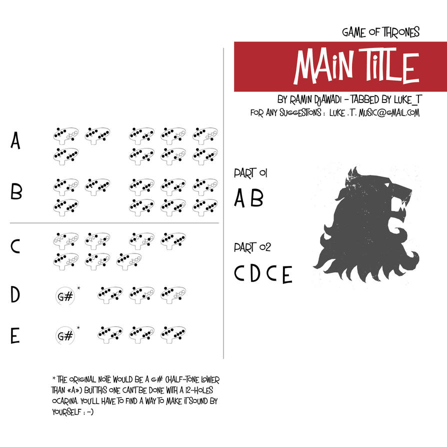 game of thrones guitar pro tab download