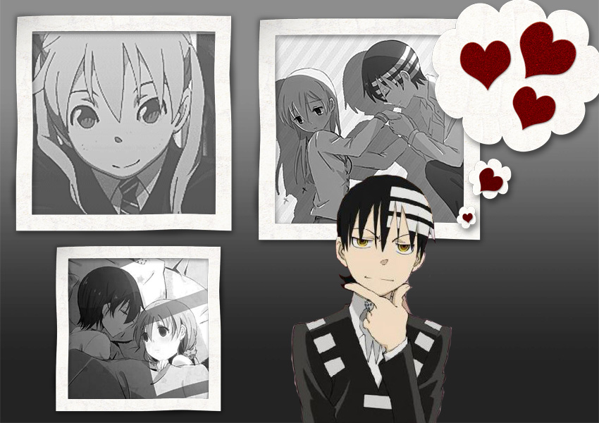 Image result for maka x kid