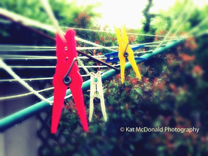 if Mondrian did laundry by KatMPhotography