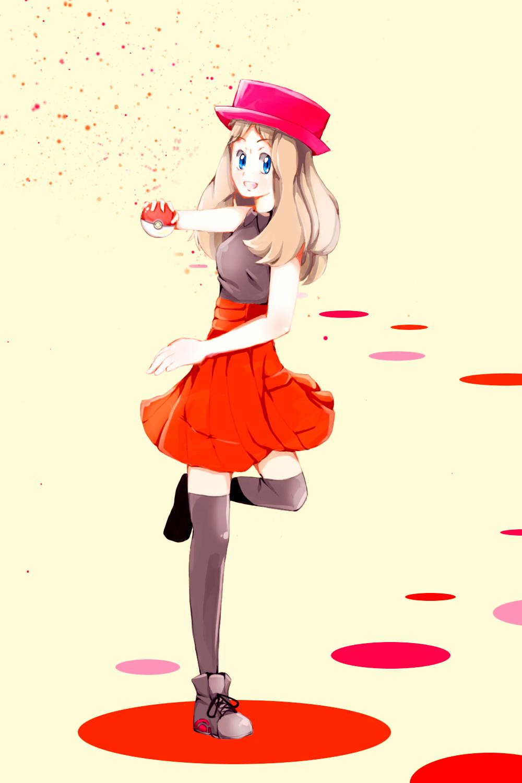 Serena Pokemon by Ushi...