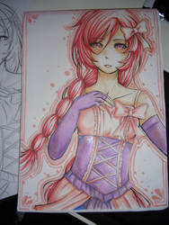 COPIC: momi by kimbolie12