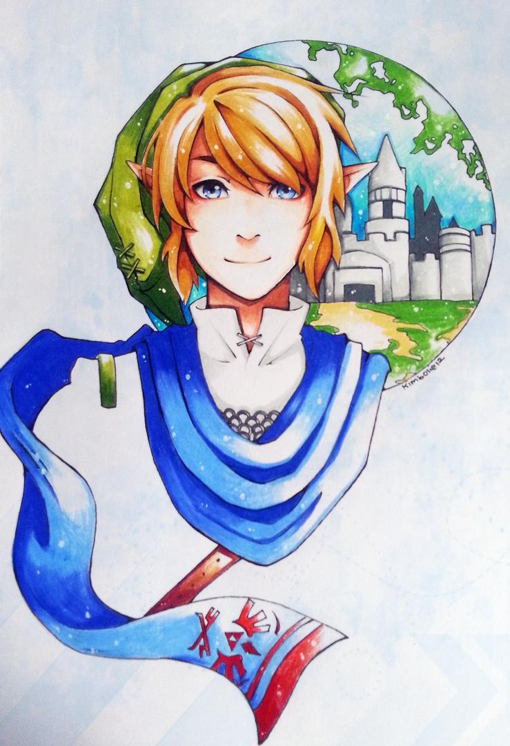 Hyrule warrior Link by kimbolie12
