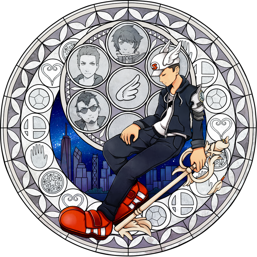Skywardwing Kingdom hearts official artwork by kimbolie12