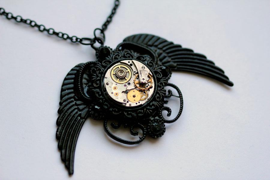 Her Black Wings II by GoddessOvDoom