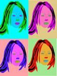 Billie Eilish pop art