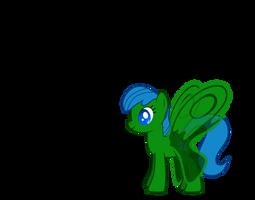 My Little Pony OC - Aqua Butterfly