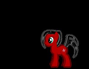 My Little Pony OC - Silver Shuriken