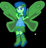 My Little Pony: EQG OC - Aqua Butterfly