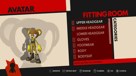 Sonic Forces Avatar - Ralph the Bear by Radiant-Sword