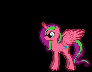 My Little Pony OC - Nebula Horizon by Radiant-Sword