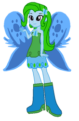My Little Pony: EQG OC - Mystic Butterfly by Radiant-Sword