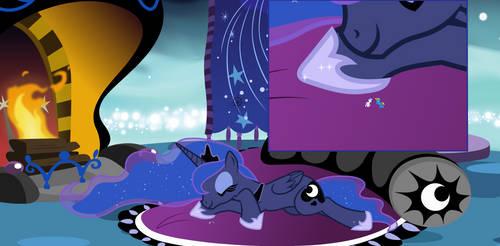 Luna's Sleepover by Radiant-Sword