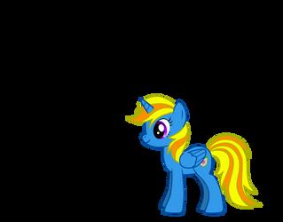 My Little Pony OC - Sunlight Shield by Radiant-Sword