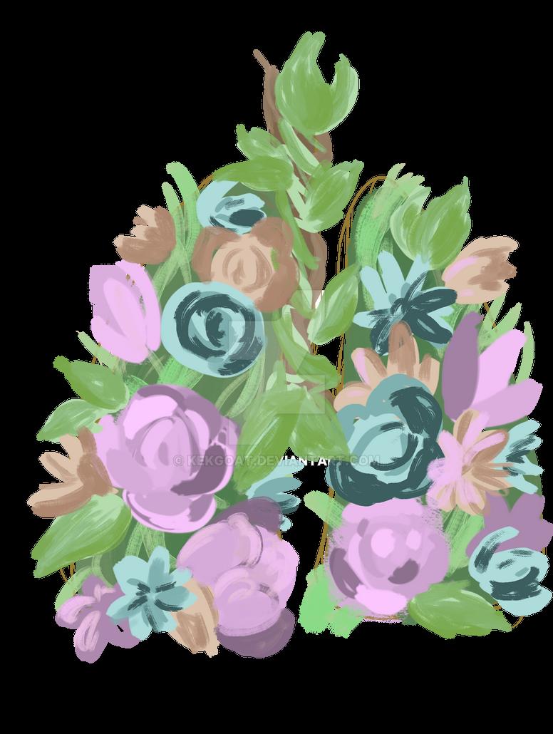 shitty flowers by KekGoat