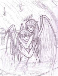 Fallen Angels by thriethetiger