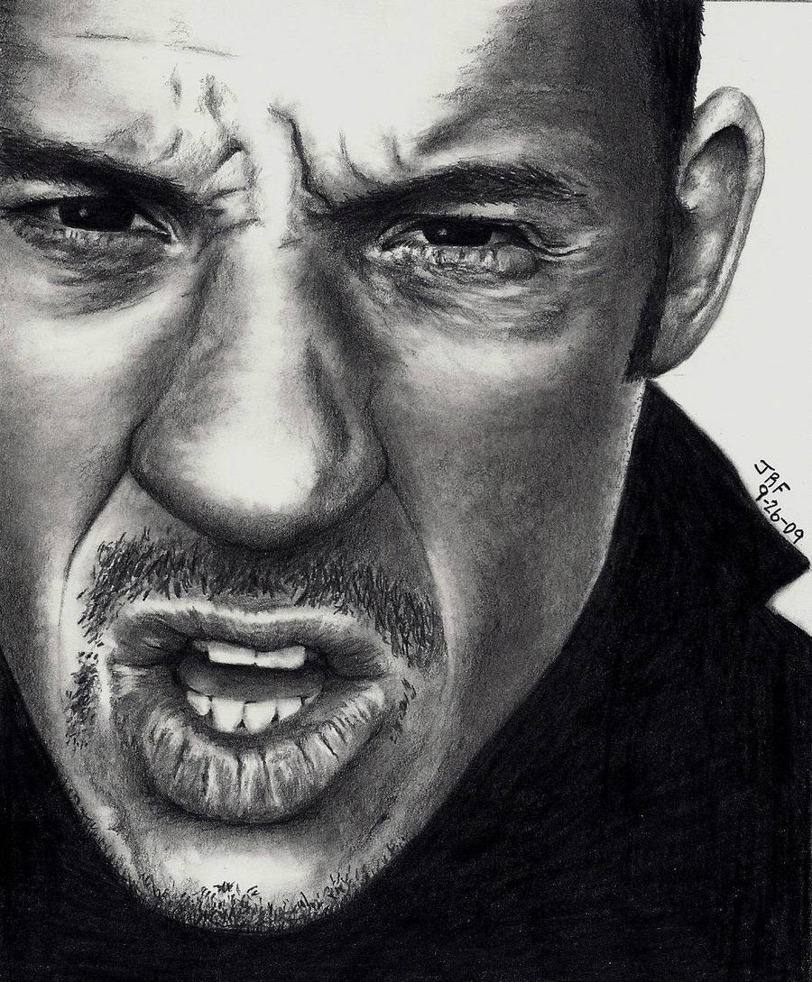 Vin Diesel Pencil Drawing by Rick-Kills-Pencils
