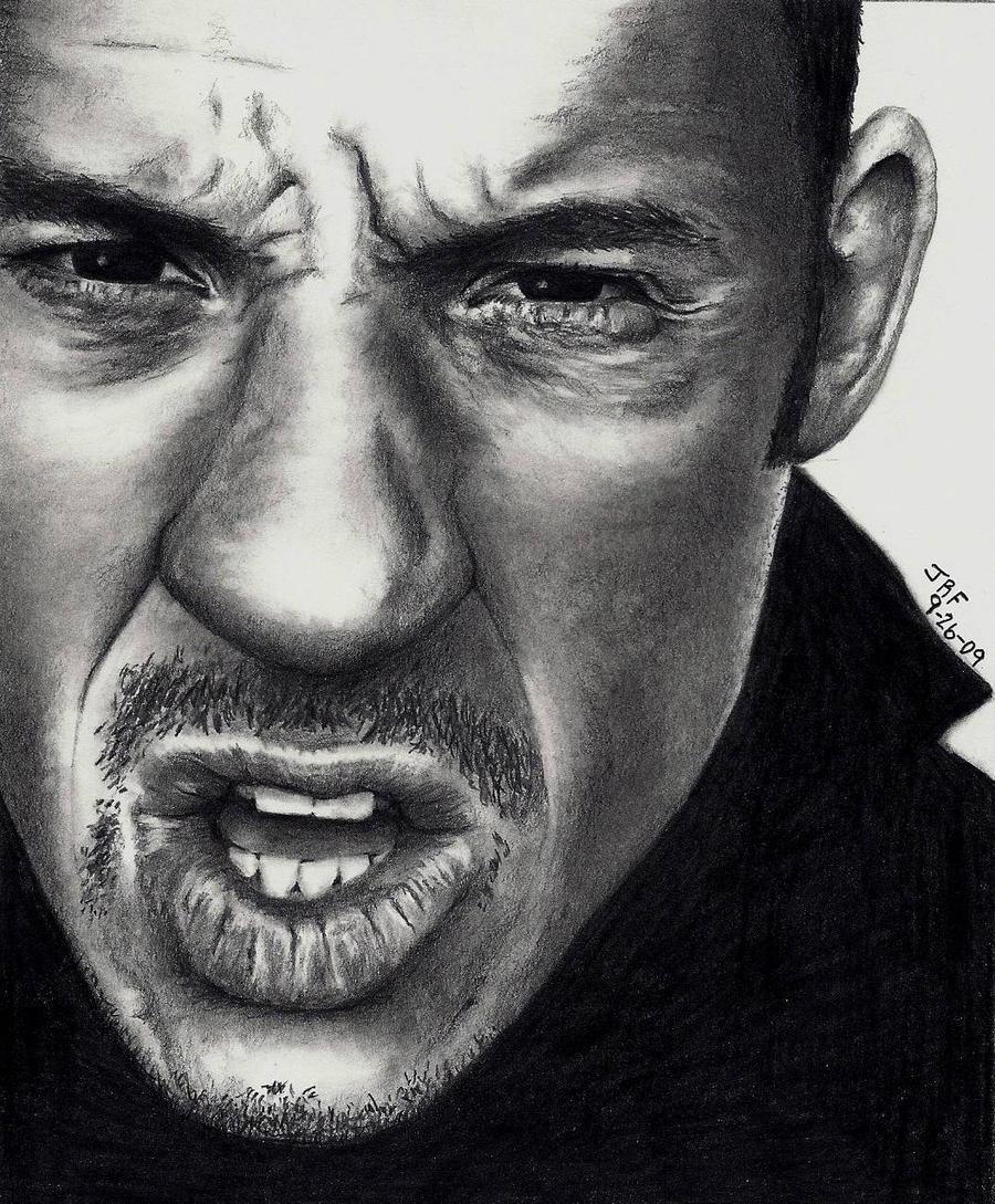 Vin Diesel Pencil Drawing by Doctor-Pencil