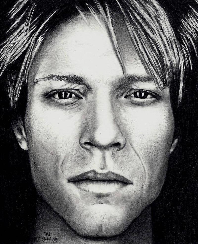 John Bon Jovi - Pencil by Doctor-Pencil