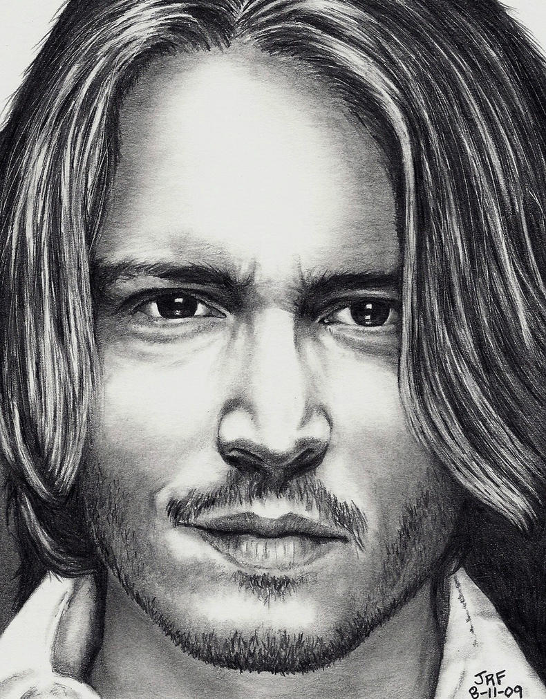 Johnny Depp by Doctor-Pencil
