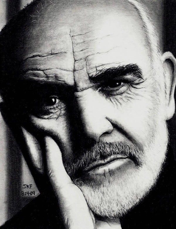 Sean Connery by Doctor-Pencil