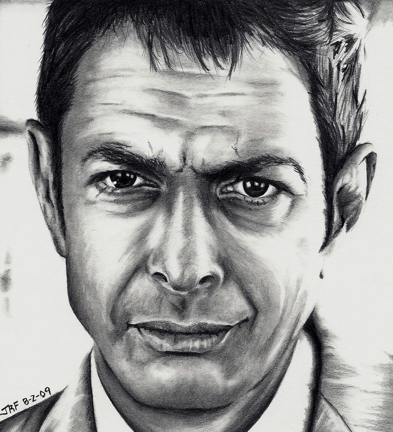 Jeff Goldblum by Doctor-Pencil