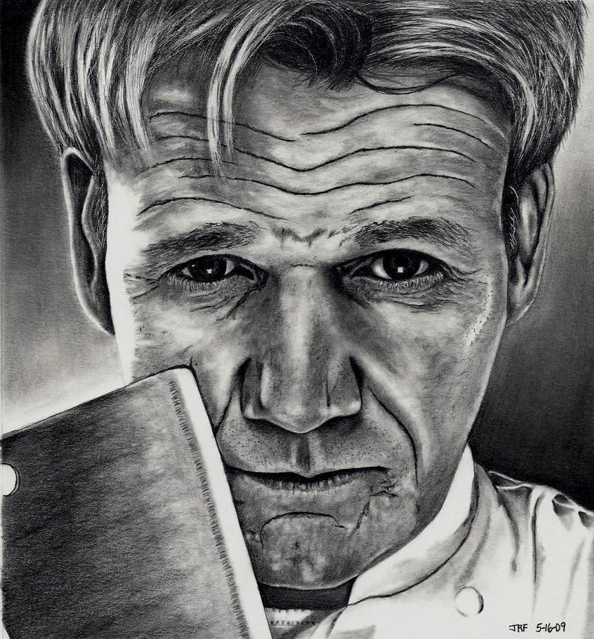 Gordon Ramsey by Doctor-Pencil