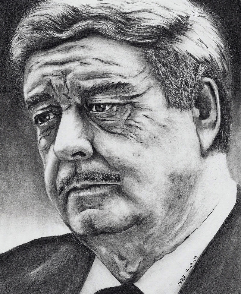 Jackie Gleason by Doctor-Pencil