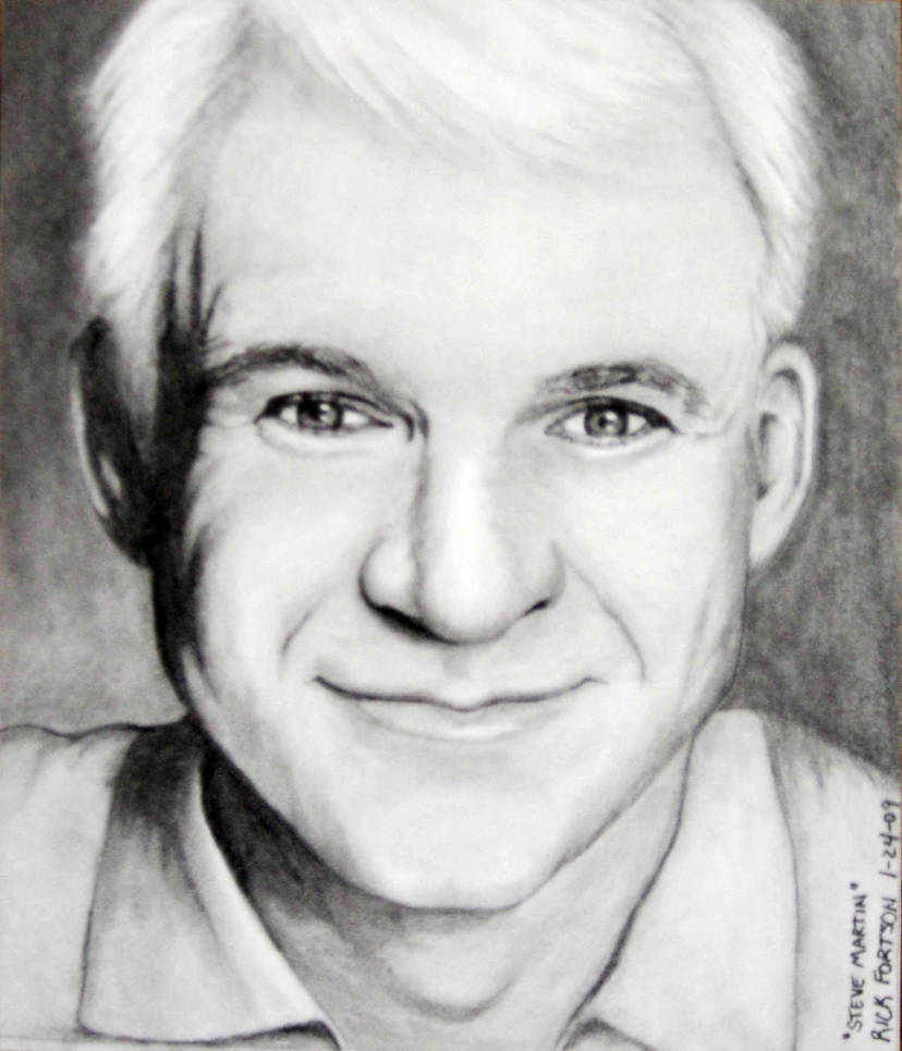 Steve martin by doctor pencil