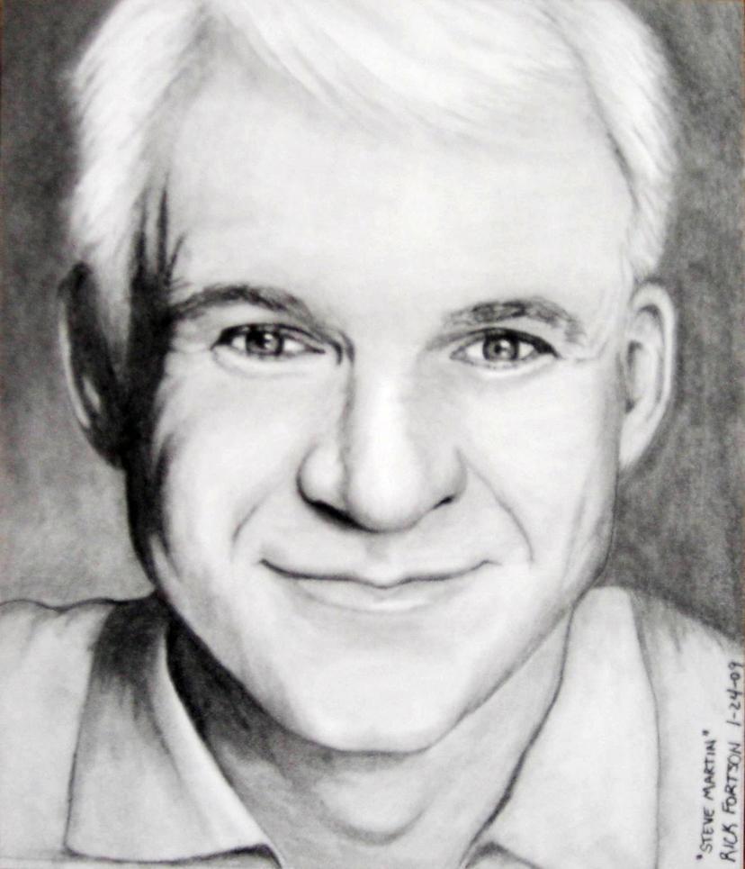 Image result for Steve Martin drawing